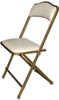 Fritz Style Premium Party Bridge Chair - Gold Frame