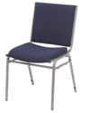 NPS Heavy-Duty Upholstered Stackable Reception Chair