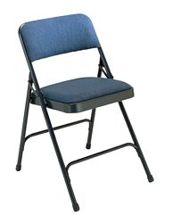 Fabric Upholstered Premium Folding Chair