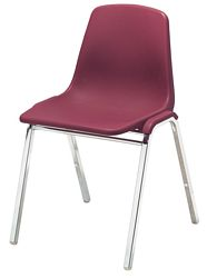 NPS Poly Shell Stacking Chair