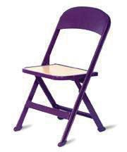 Clarin Juvenile Folding Chair with Blonde Wood Seat