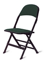 Clarin All Purpose Steel Folding Chair with Upholstered Seat and Back