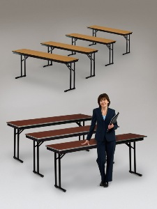 24  Wide  Plywood Folding Tables