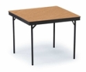 Plywood Square Folding Table