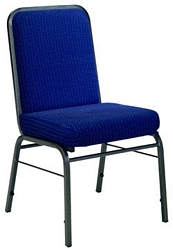 OFM Comfort Class Stack - Pew Style Chair with Fabric Upholstery