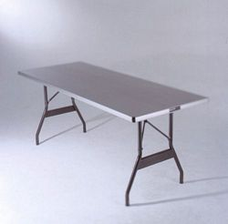 Al-u-lite Aluminum 24  Wide Tables