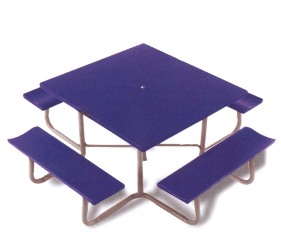 Southern PikNik Square Picnic Table Picnic Tables Best - Four sided picnic table
